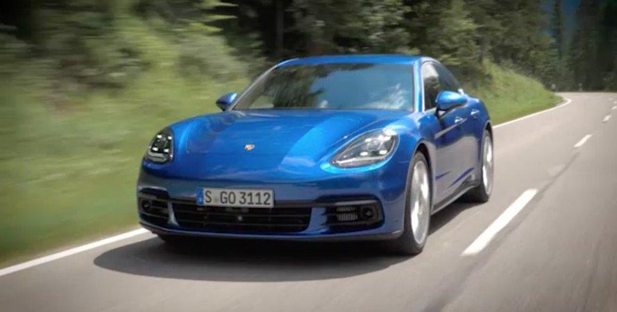 Германский производителе автомобилей представляет свою новейшую разработку Порше Panamera 4S