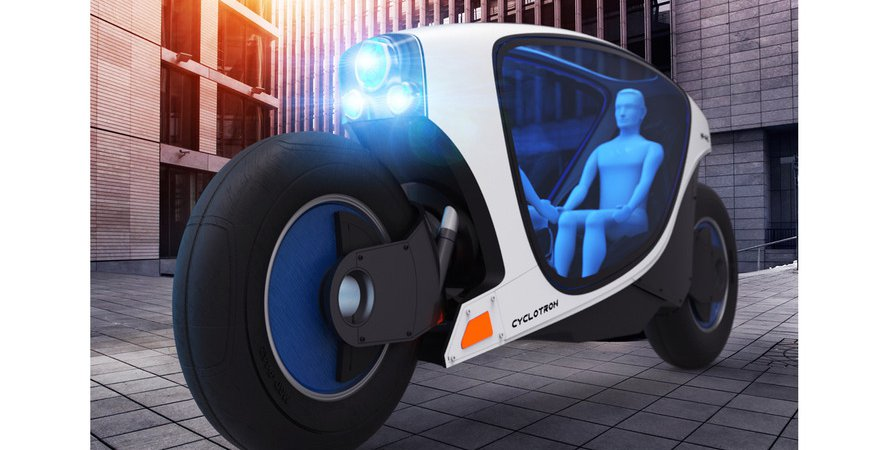Автономный мотоцикл - скоро