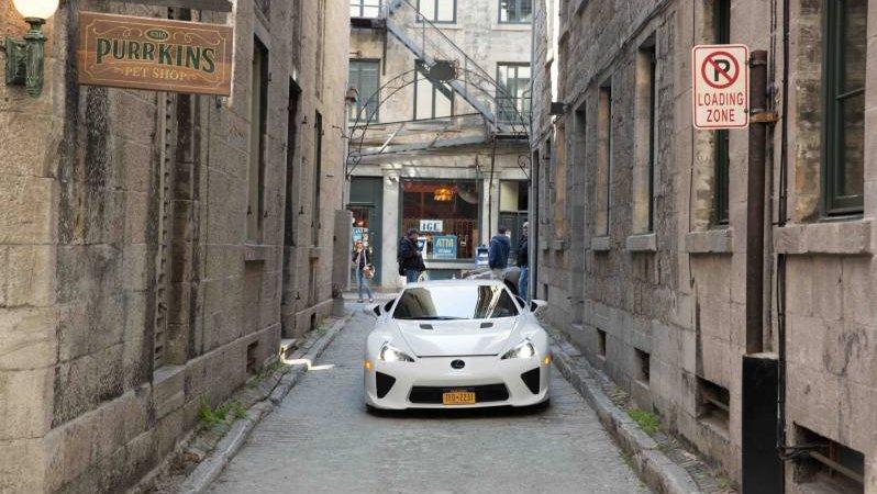 «Девять жизней» Lexus LFA