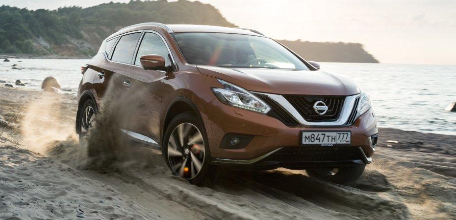 Nissan Murano доехал до России