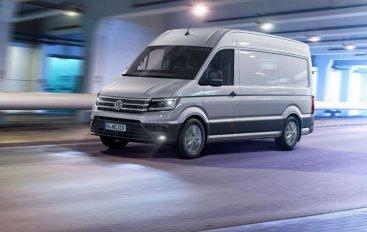Новый VW Crafter скоро в продаже