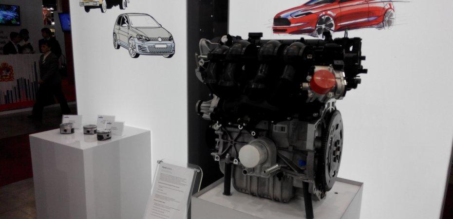 Российский мотор Ford в Крокусе