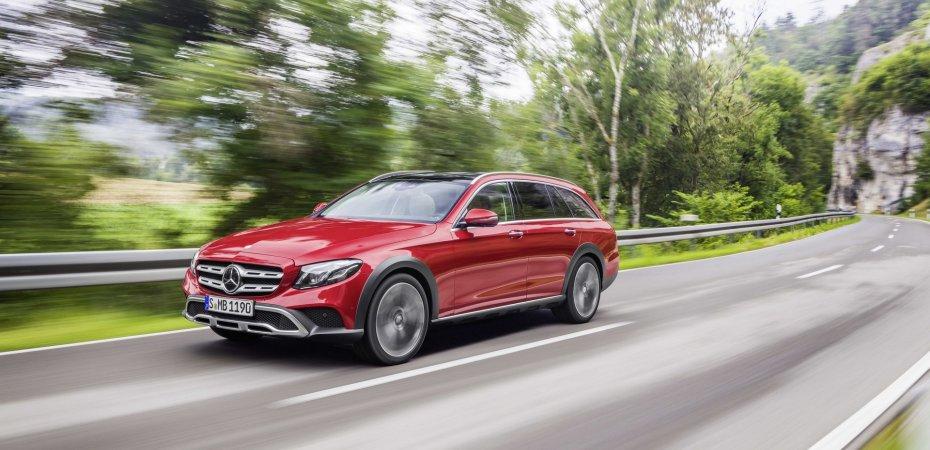 Mercedes показал E-Class All-Terrain