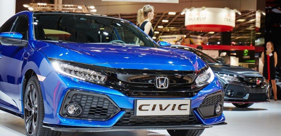 Новинки Honda в Париже