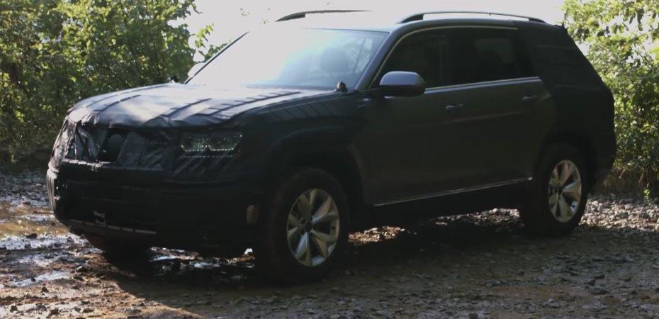 VW Atlas - новый кроссовер