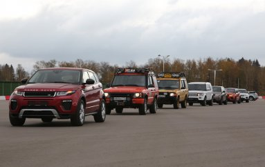 Land Rover 15 лет в России