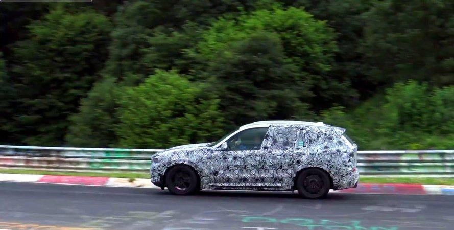 Новый BMW X3 на тестах