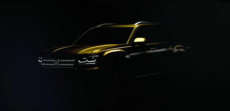 VW начал рекламировать Atlas