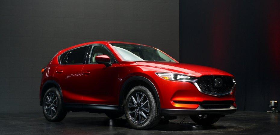 Новое поколение Mazda CX-5