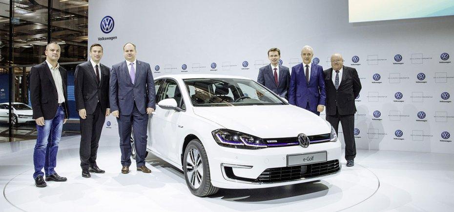 Новый VW e-Golf