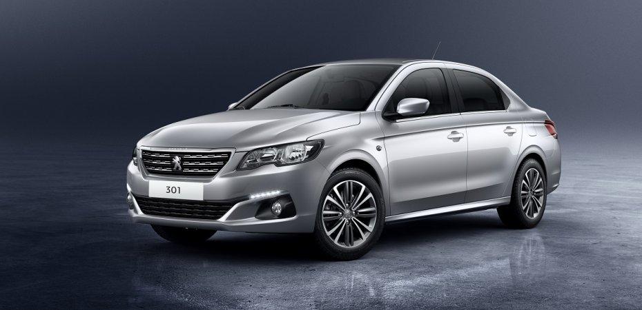 Новый седан Peugeot 301