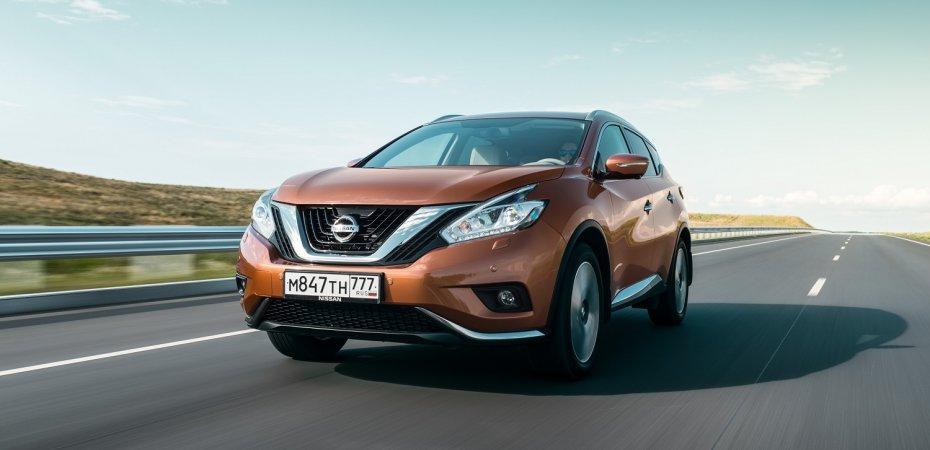 С Nissan Murano «скинут» до 125 000 рублей