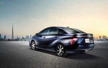 Toyota - главная по водороду
