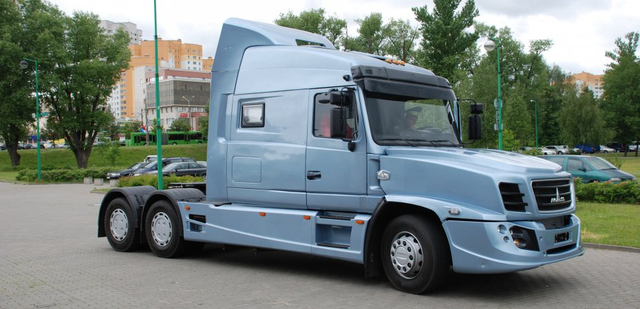 Умный грузовик МАЗ