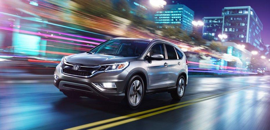 Honda CR-V стал №1