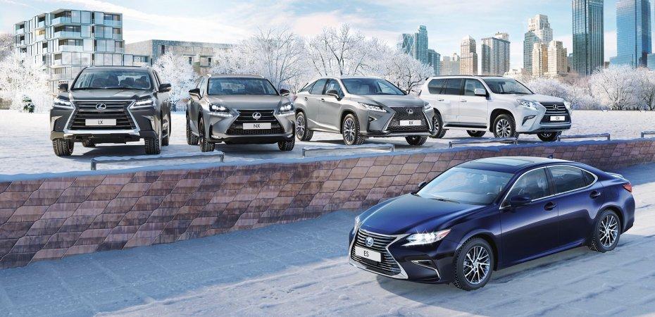 Lexus ES, NX, RX, GX и LX: «Роскошь с дисконтом»