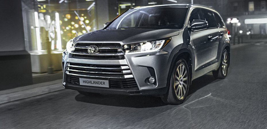 Новый Toyota Highlander - в салонах