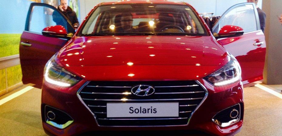 Новый Hyundai Solaris в России