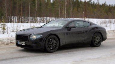 Новый Continental GT без камуфляжа