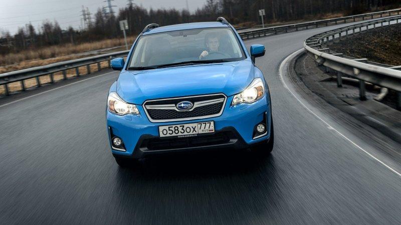 Subaru приготовила особый XV