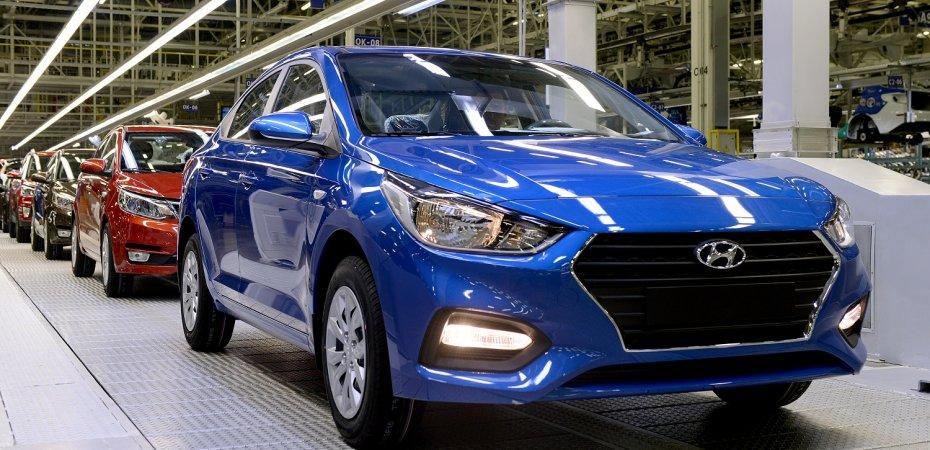 Hyundai Solaris встал на конвейер