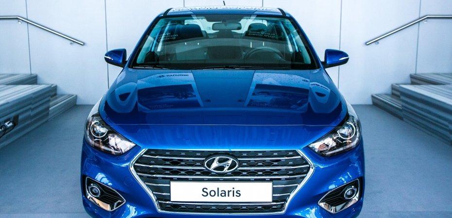 Hyundai Solaris II с рублевым ценником