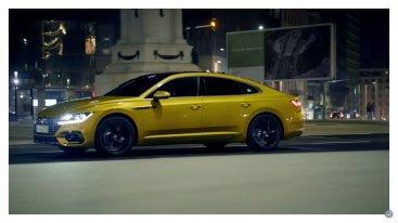 Первое видео VW Arteon