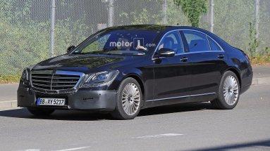 Mercedes обновляет S-Class