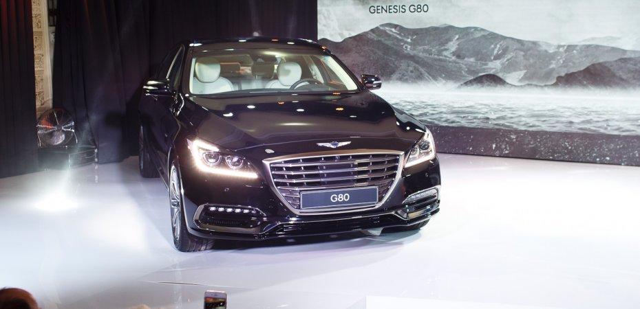 Начались продажи Genesis G80