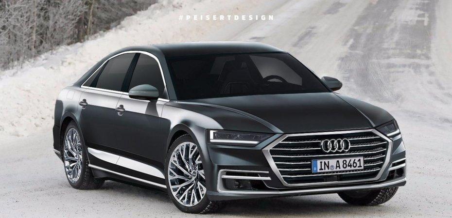 Audi A8 2018 скоро в продаже