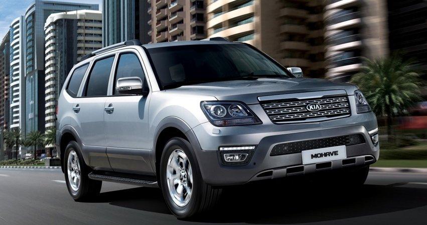 Стали известны цены нановый вседорожный автомобиль Кия Mohave для Российской Федерации