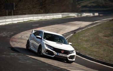 Honda Civic Type R: рекорд скорости