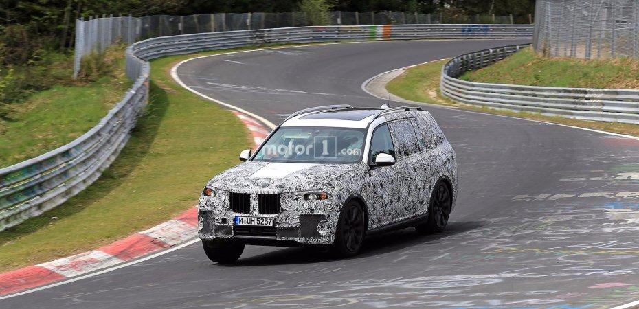 BMW X7 уже на Нюрбургринге