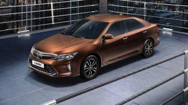 5 обновок Toyota Camry