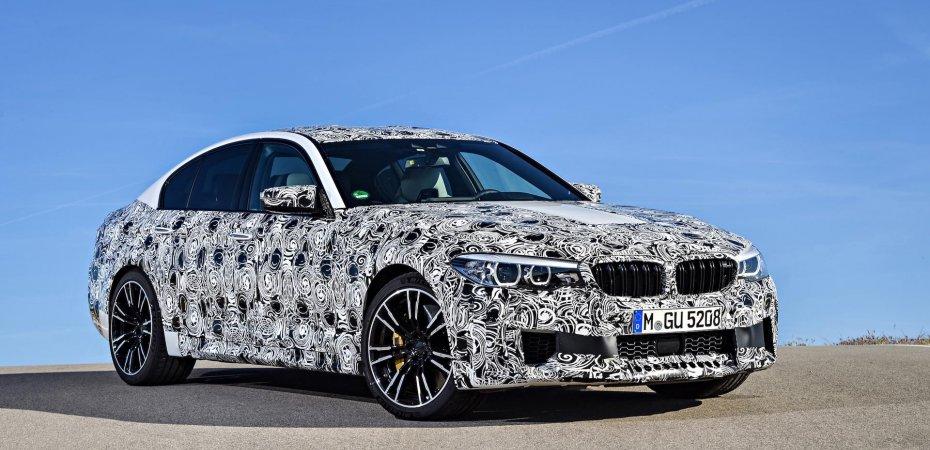 BMW M5 получит новую M XDRIVE