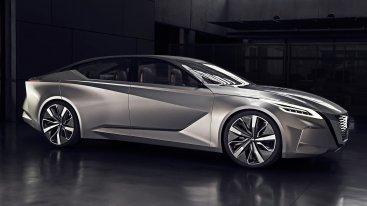 Новый электромобиль Nissan