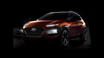 Первые фото Hyundai Kona