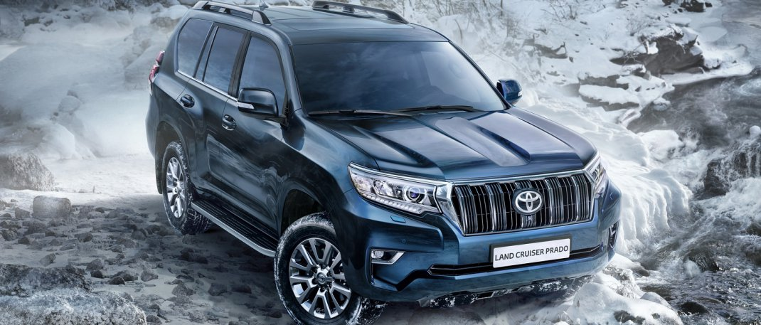LAND CRUISER PRADO: РАВНЕНИЕ НА ФЛАГМАНА