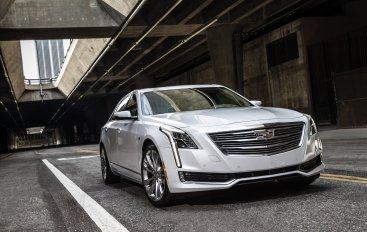 Новый флагман Cadillac CT6 в России