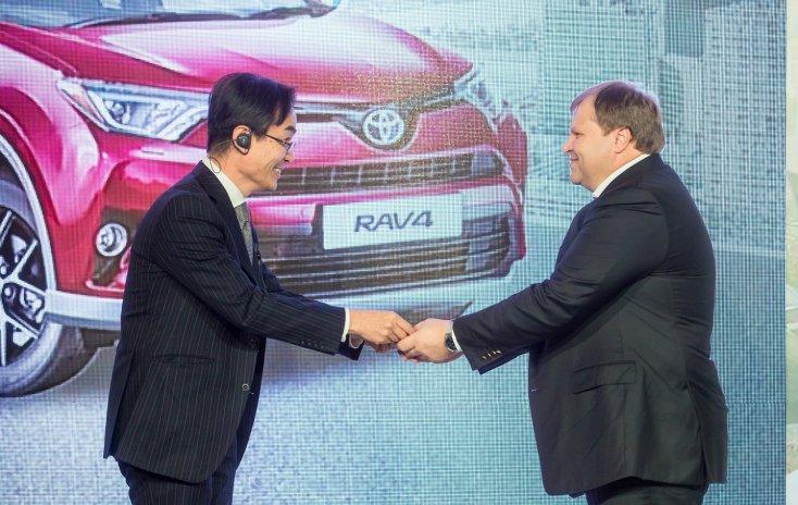 Тойота RAV4 начали производить в северной столице