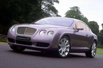 Bentley Continental GT Prototype