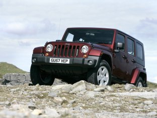 Jeep Wrangler Unlimited UK Version