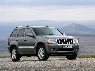 Jeep Grand Cherokee Overland UK Version