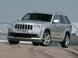 Jeep Grand Cherokee SRT-8 UK Version