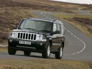 Jeep Commander UK Version