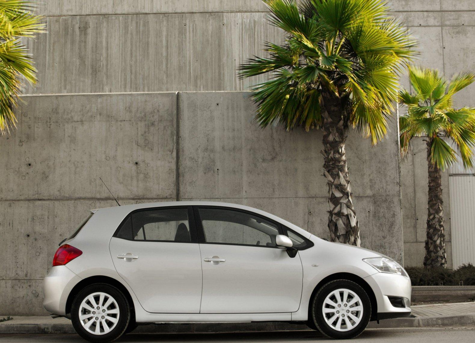 дорожный просвет Toyota Аурис 2008 #5