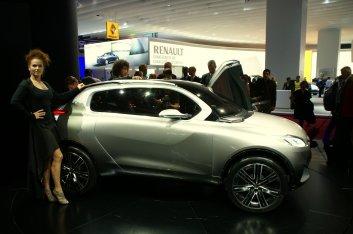 Автосалон в Париже: Peugeot HR1