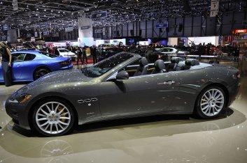 Maserati GranCabrio Fendi Edition Geneva