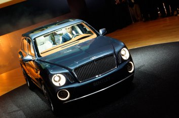 Bentley EXP 9 F Женевский автосалон