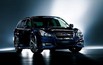 Subaru Legacy Touring Wagon и B4